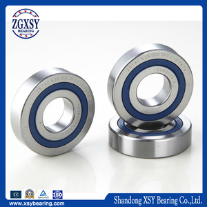 High Precision Angular Dental Contact Ball Bearing 7203AC 17*40*12mm